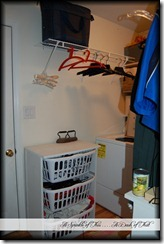 laundry room before left wall