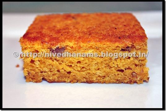 Eggless Mango Cake - IMG_1853