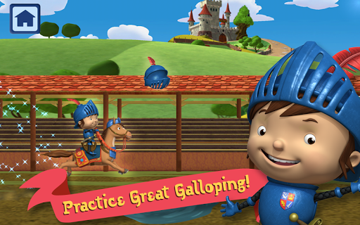 Mike The Knight: Great Gallop - screenshot