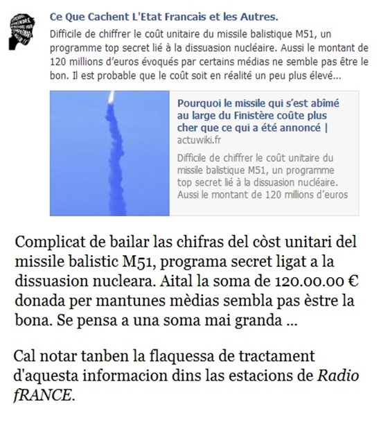 Còst dels missiles M51