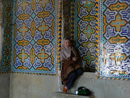 Things to see in Shiraz: Khan Karim mosque