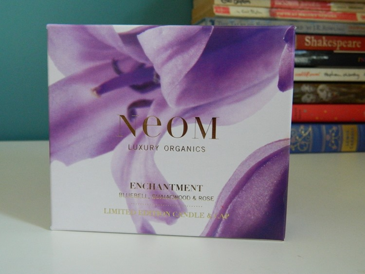 NEOM Limited Edition Enchantment Candle Packaging