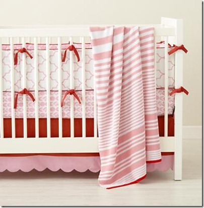 scalloped crib skirt