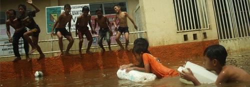 Diguyur Hujan, Baleendah Banjir Lagi.