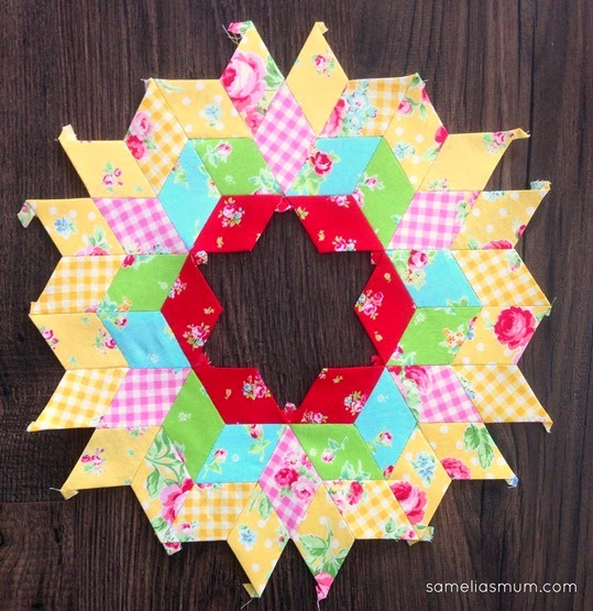 Diamond Paper Piecing