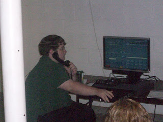 Dispatcher Isaac Kleese is receiving training on the new 911 phone system