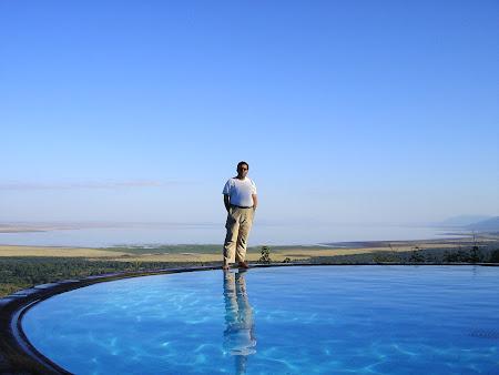 African Safari: Lodge in Manyara