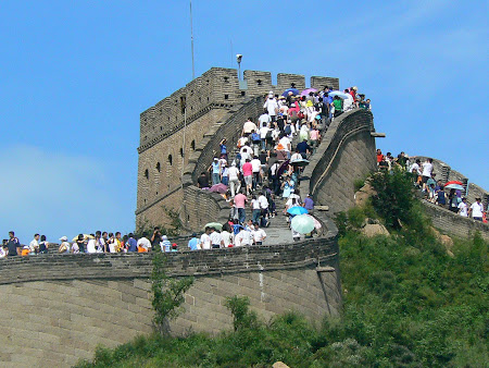 Beijing travel: The great Wall