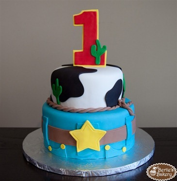 Theres A New Sheriff in Town Birthday Cake Berties Bakery