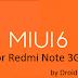MiUi 6 For Redmi Note 3G ( Full ROM+OTA Updates)