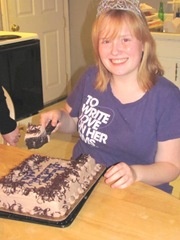 10.25.11 Katie cutting her 18th birthday cake