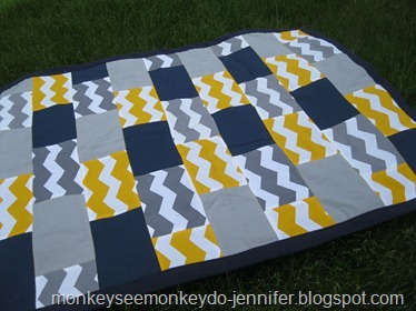 finished chevron quilt (26)
