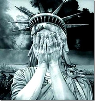 Statue Liberty Crying