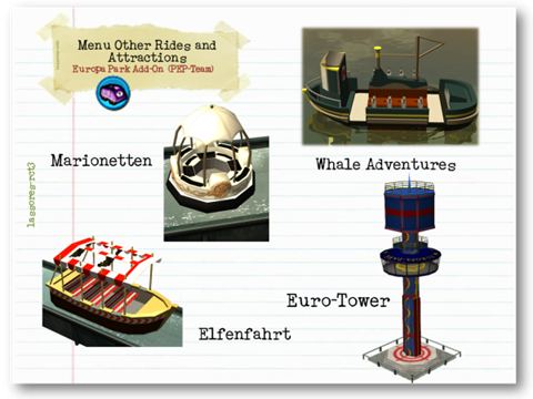Menu Other Rides and Attractions Cars II (PEP-Team) lassoares-rct3