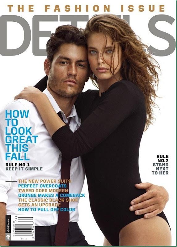 Tyson Ballou & Emily DiDonato  for Details Sept. 2013