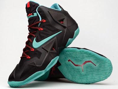 nike lebron 11 gr prohibition 2 04 Release Reminder: Nike LeBron XI Diffused Jade Prohibition