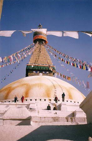 Best of Nepal: The Bouddha stupa