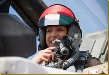 uae piloto mulher