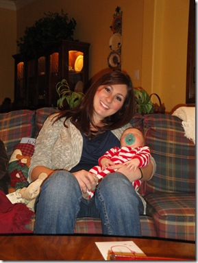 9.  Knox and Mommy