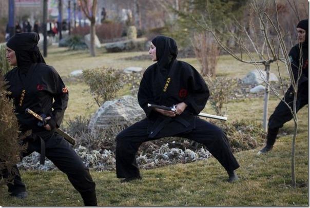 Mulheres iraquianas ninjas (15)