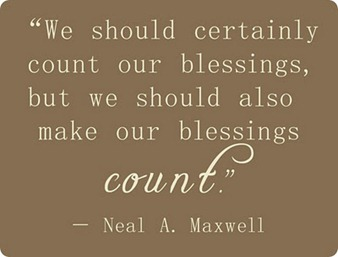 count blessings quote