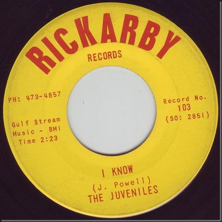 juveniles rickarby