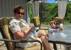 1308035 Aug 05 Barb Doing Her Needlepoint