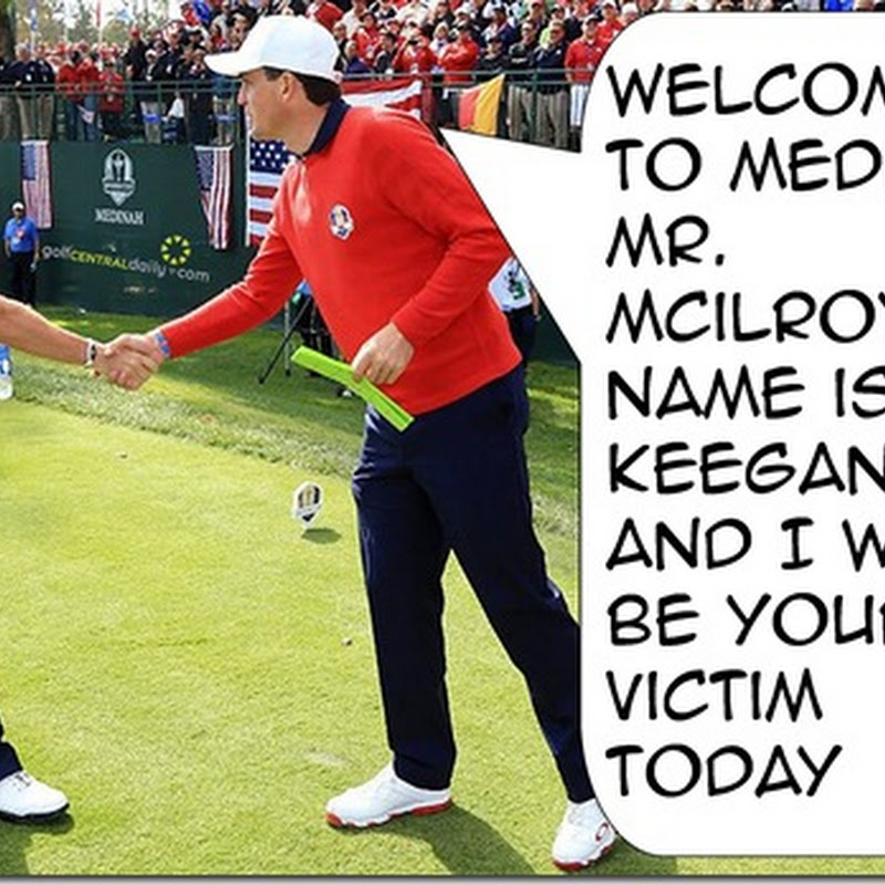 2012 Ryder Cup Final Day Funny Caption Pics