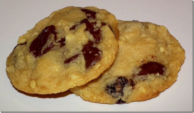 Cherries and Dark Chocolate and Cream Cookies (March SRC) 3-3-12