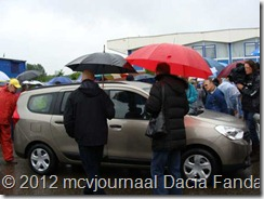 Dacia Fandag 2012 Onthulling Lodgy 28