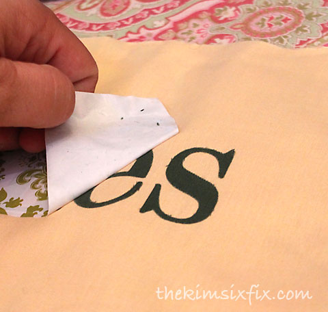 Fabric transfer paper