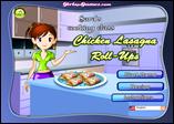 Sara's Cooking Class: Lasagna Roll-Ups