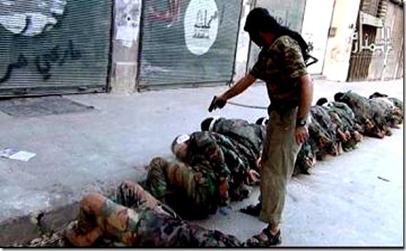 Jabhat al-Nusra executes Alawite Shi'ites