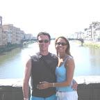 Saluti da Giuseppe e Domenica Berrafato di Toronto, Canada.  Viaggi di nozze in Firenze.JPG