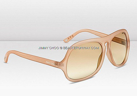 Jimmy Choo Biker Sunglasses Eyewear Fall Winter 2012 2013 Collection vintage design in androgynous geometric shape injection moulded frames small metal studs spades hearts, diamonds clubs  temple tips biker chic