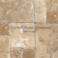 Tuscany Chateaux Travertine Standard Versailles Honed Unfilled Chipped Tile