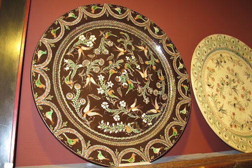 These large plates remind me of plates that Martha and I had seen in Istanbul a few years ago.