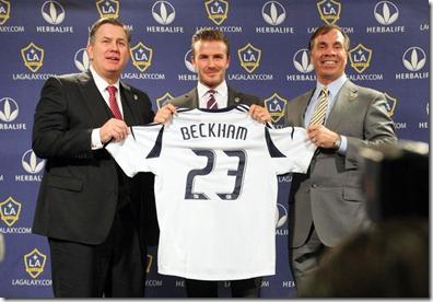David Beckham Los Angeles Galaxy Press Conference QR6xqu-Ggcpl