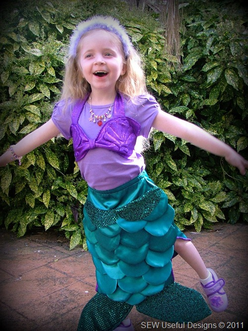 Rosie birthday mermaid 2 pic