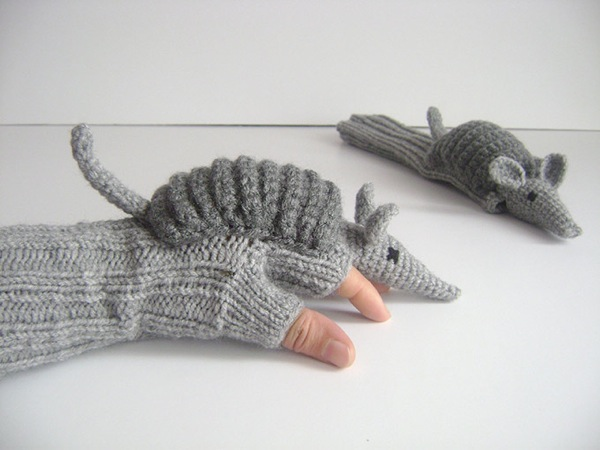 Armadillo Gloves