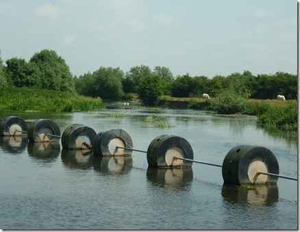 weir at alrewas