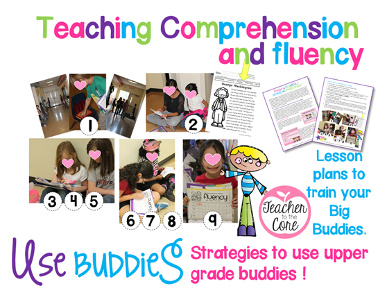 Step by Step to getting reading buddies going in your classroom