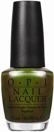 OPI Green on the Runway (inspired by Sprite)
