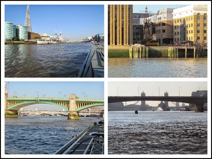 5 boats and bridges