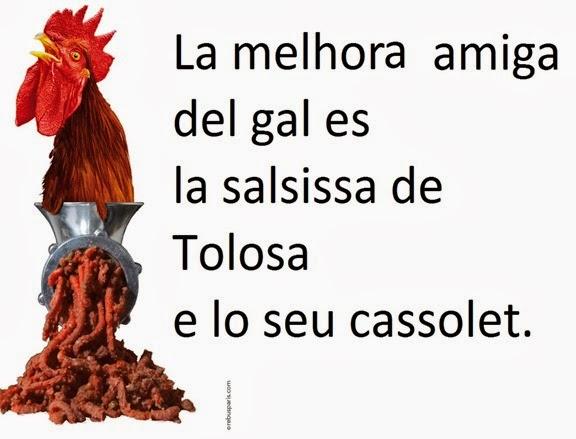 lo gal, la salsissa e Tolosa