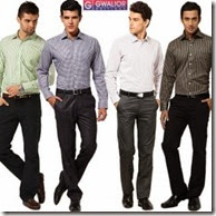Snapdeal : Buy Gwalior Formal Wear Pack Of 8 at Rs. 598 (4 Shirts & 4 Pants Fabric)