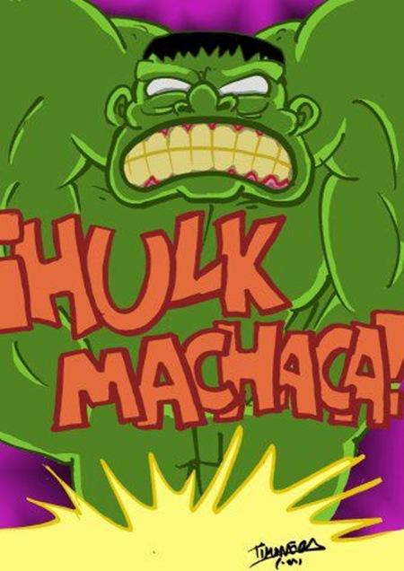 Un Hulk para Richi, por Cristian Timoneda Marin