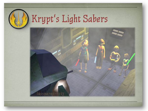 Krypt's Light Sabers (Krypt) lassoares-rct3