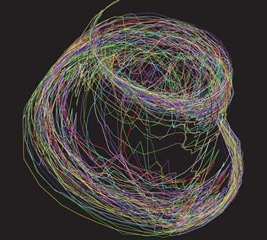 trajetória quântica