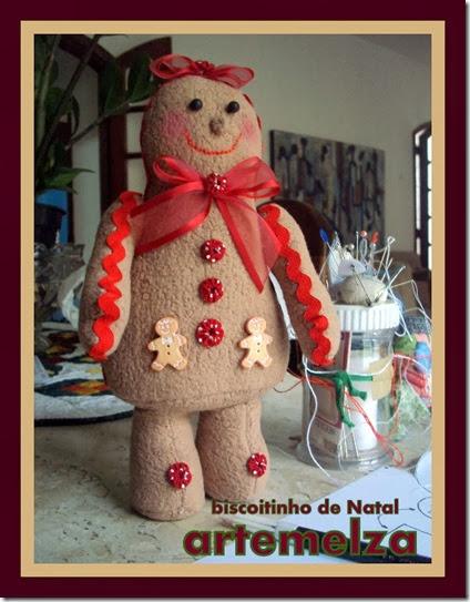 artemelza - biscoitinho de natal